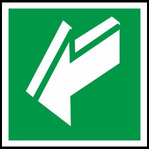 Знак E-19 «Открывать движением на себя»_07621
