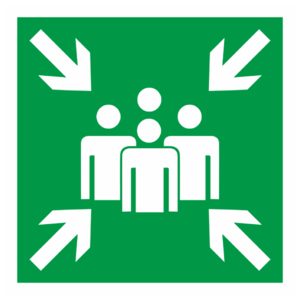 Знак E-21 «Пункт (место) сбора»_07623