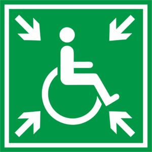 Знак «Место сбора инвалидов»_07626