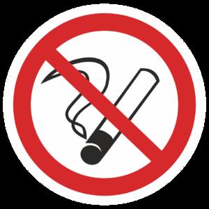 Знак P-01«Курить запрещено»_07301