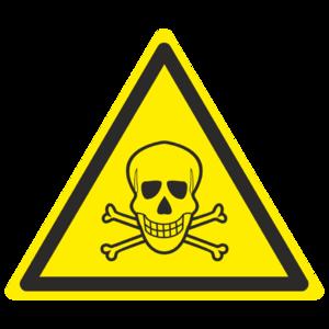 Знак W-03 «Опасно. Ядовитые вещества»_07003