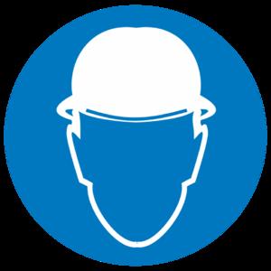 Знак M-02 «Работать в защитной каске»_07402
