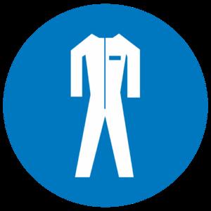 Знак M-07«Работать в защитной одежде»_07407